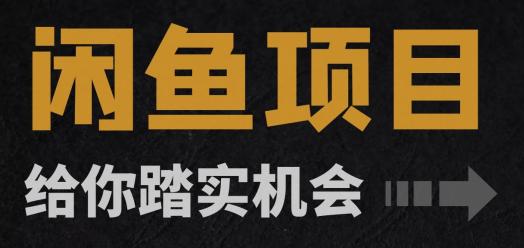闲鱼无货源+闲鱼iPad项目【首期招生】